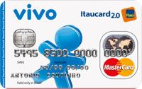 Logo Banco Itaú VIVO Itaucard 2.0 Nacional Pós Mastercard