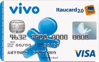Logo Banco Itaú VIVO Itaucard 2.0 Nacional Pré Visa