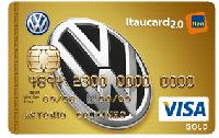 Logo Banco Itaú Volkswagen Itaucard 2.0 Gold Visa