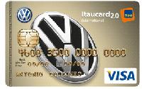Logo Banco Itaú Volkswagen Itaucard 2.0 International Visa