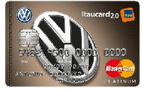 Logo Banco Itaú Volkswagen Itaucard 2.0 Platinum Mastercard