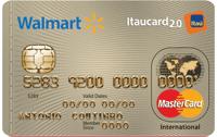 Logo Banco Itaú Walmart Itaucard 2.0 Internacional