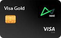 Logo Banco Next Cartão Next Gold