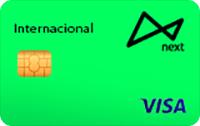 Logo Banco Next Cartão Next Internacional