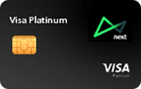 Logo Banco Next Cartão Next Platinum