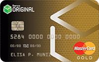 Logo Banco Original Cartão Gold