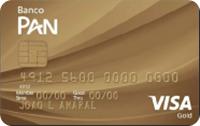 Logo Banco Pan Cartão Gold Visa