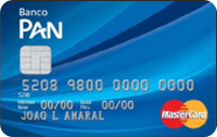 Logo Banco Pan Cartão Pan Internacional Mastercard