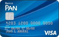 Logo Banco Pan Cartão Visa Internacional