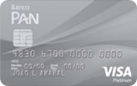 Logo Banco Pan Cartão Platinum Visa