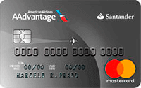 Logo Banco Santander Cartão AAdvantage® Platinum
