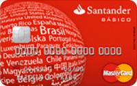 Logo Banco Santander Cartão Básico Mastercard