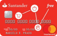 Logo Banco Santander Cartão Free Mastercard