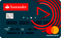 Logo Banco Santander Cartão Play