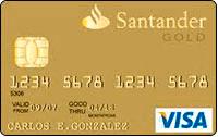 Logo Banco Santander Cartão Shell Internacional Visa
