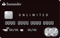 Logo Banco Santander Santander Unlimited Black