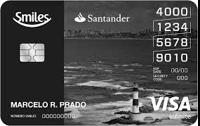 Logo Banco Santander Cartão Santander Smiles Infinite