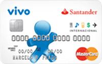 Logo Banco Santander Vivo Internacional Mastercard