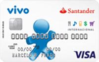 Logo Banco Santander Vivo Internacional Visa