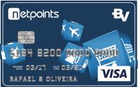 Logo Banco Votorantim Cartão NetPoints Internacional Visa