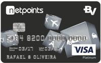 Logo Banco Votorantim Cartão NetPoints Platinum Visa