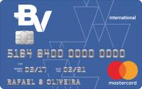 Logo Banco Votorantim Cartão BV Internacional Mastercard