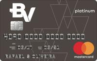 Logo Banco Votorantim Cartão BV Platinum Mastercard