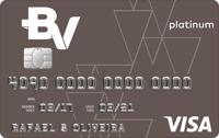 Logo Banco Votorantim Cartão BV Platinum Visa
