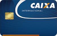 Logo Caixa Econômica Federal Cartão Internacional Visa