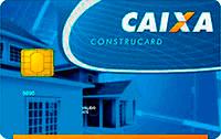Logo Caixa Econômica Federal Construcard