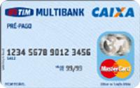Logo Caixa Econômica Federal Pré-pago TIM Multibank
