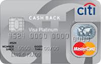Logo Citibank Citi Cash Back Platinum Mastercard