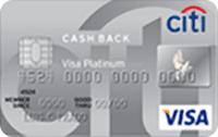 Logo Citibank Citi Cash Back Platinum Visa