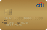 Logo Citibank Citi Clássico Gold Mastercard
