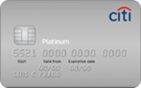 Logo Citibank Citi Platinum Mastercard