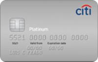Logo Citibank Citi Platinum Visa