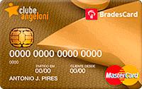 Logo Clube Angeloni BradesCard Clube Angeloni Gold Mastercard