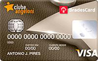 Logo Clube Angeloni BradesCard Clube Angeloni Internacional Visa