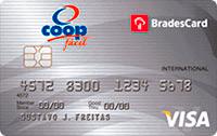 Logo Cooperativa de Consumo Coop BradesCard Coop Internacional