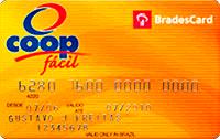 Logo Cooperativa de Consumo Coop BradesCard Coop