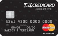 Logo Credicard Credicard Exclusive Platinum Mastercard
