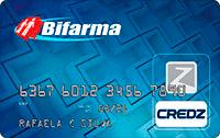 Logo Credz Cartão Bifarma