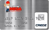 Logo Credz Cartão Center Mega