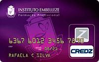 Logo Credz Cartão Instituto Embelleze
