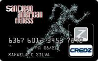 Logo Credz Cartão San Diego American Fitness