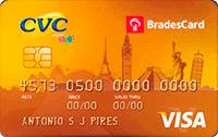 Logo CVC BradesCard CVC Gold