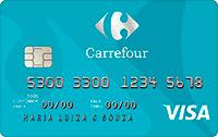 Logo Hipermercado Carrefour Cartão Carrefour Internacional Visa