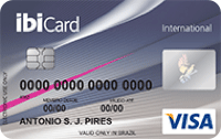 Logo Ibi IbiCard Internacional Mastercard