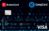 Logo Lojas Comper e CompreFort BradesCard CompCard Nacional