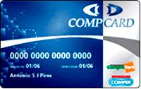 Logo Lojas Comper e CompreFort BradesCard CompCard